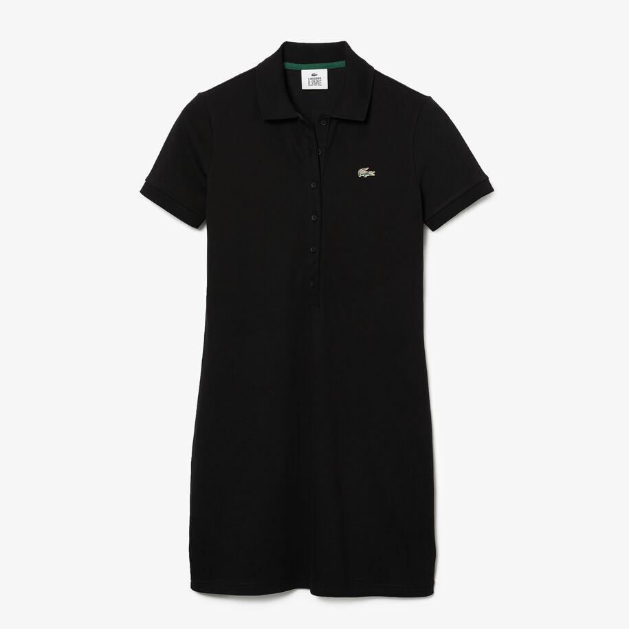 Women's Lacoste LIVE Stretch Cotton Piqué Polo Dress