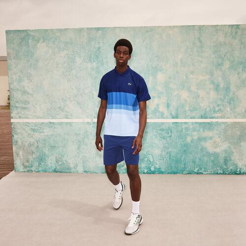 Men's Lacoste Sport X Novak Djokovic Breathable Stretch Regular Fit Polo