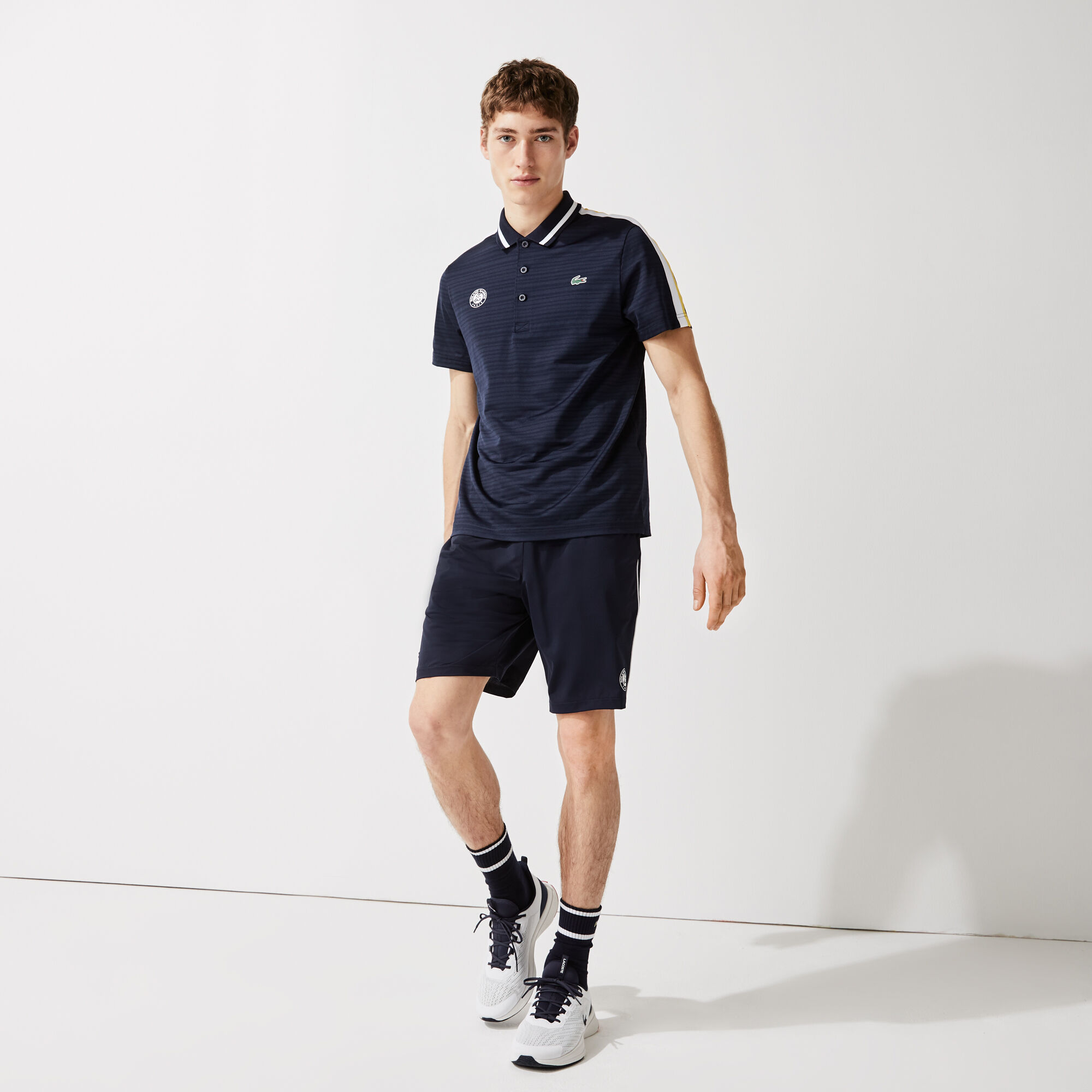 Men's Lacoste SPORT French Open Edition Second-Skin Polo Shirt
