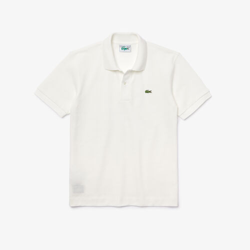 Men's Lacoste Classic Fit Organic Cotton Piqué Polo
