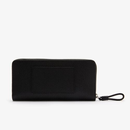Women's Chantaco Matte Piqué Leather Zip Wallet
