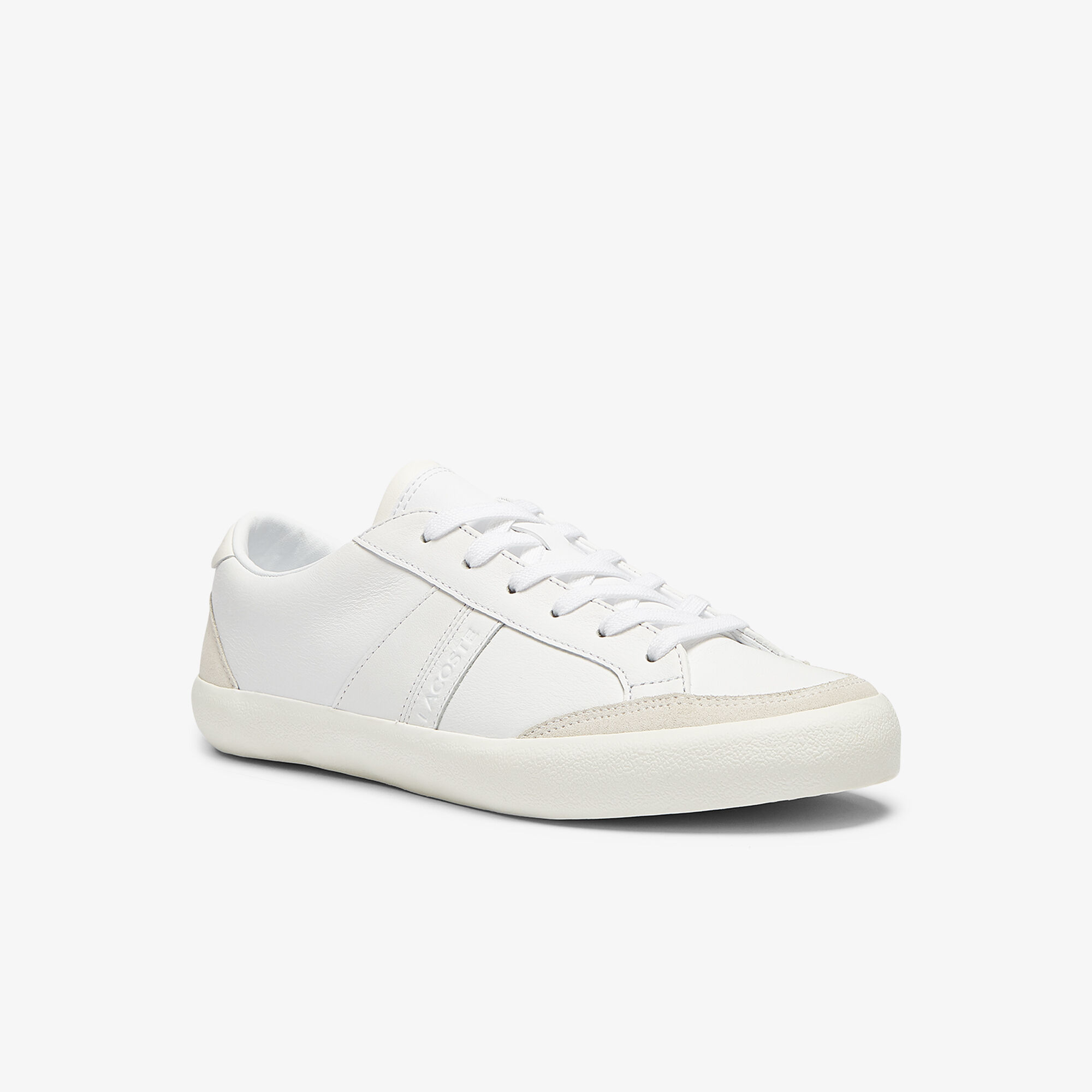 Women's Coupole Leather Textured Trainers