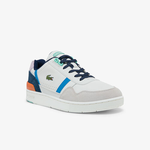 Men's T-clip Leather, Suede And Synthetic Sneakers