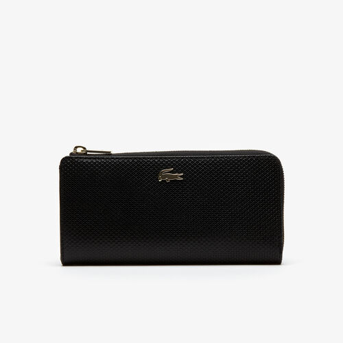 Women's Chantaco Piqué Leather 8 Card Zip Wallet