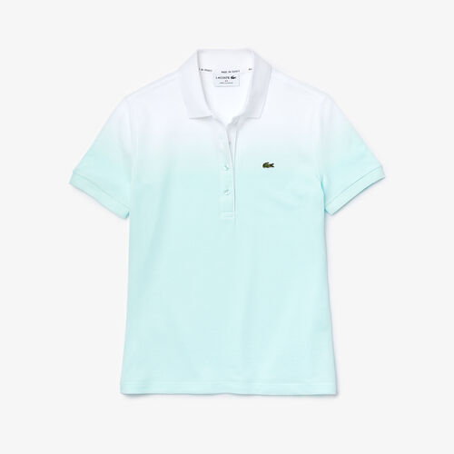 Women's Lacoste Made In France Organic Cotton Piqué Polo Shirt