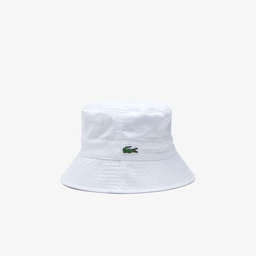 قبعة صيد قطن برباط للنساء