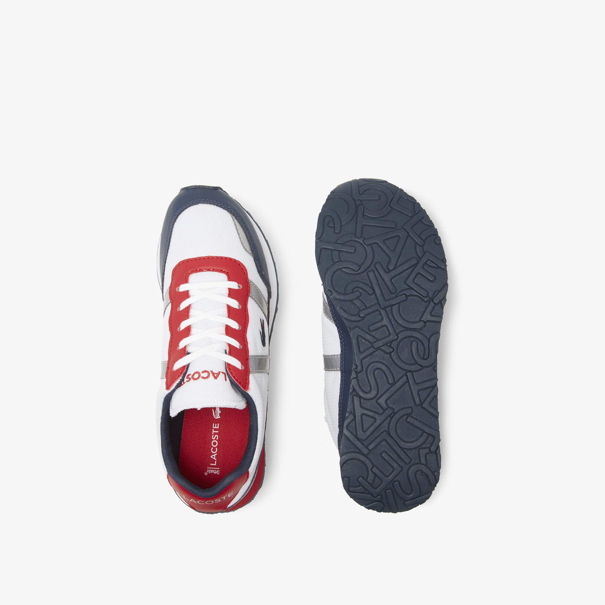 Juniors' Partner Lace-up Textile and Synthetic Sneakers