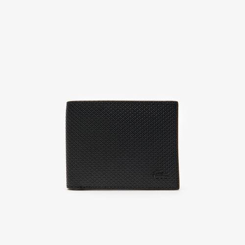 Men's Chantaco Piqué Leather 3 Card Wallet