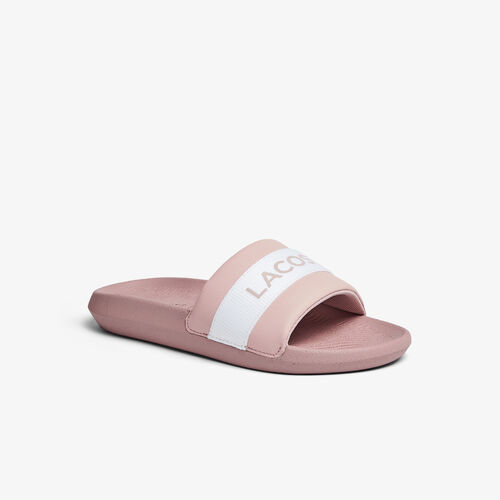 Women's Croco Synthetic And Textile Slides