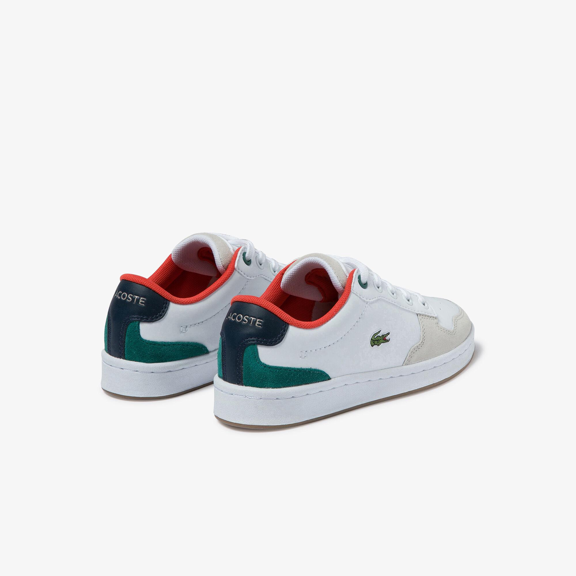 حذاءرياضي من الجلد من مجموعة Masters Cup Metallic للأطفال