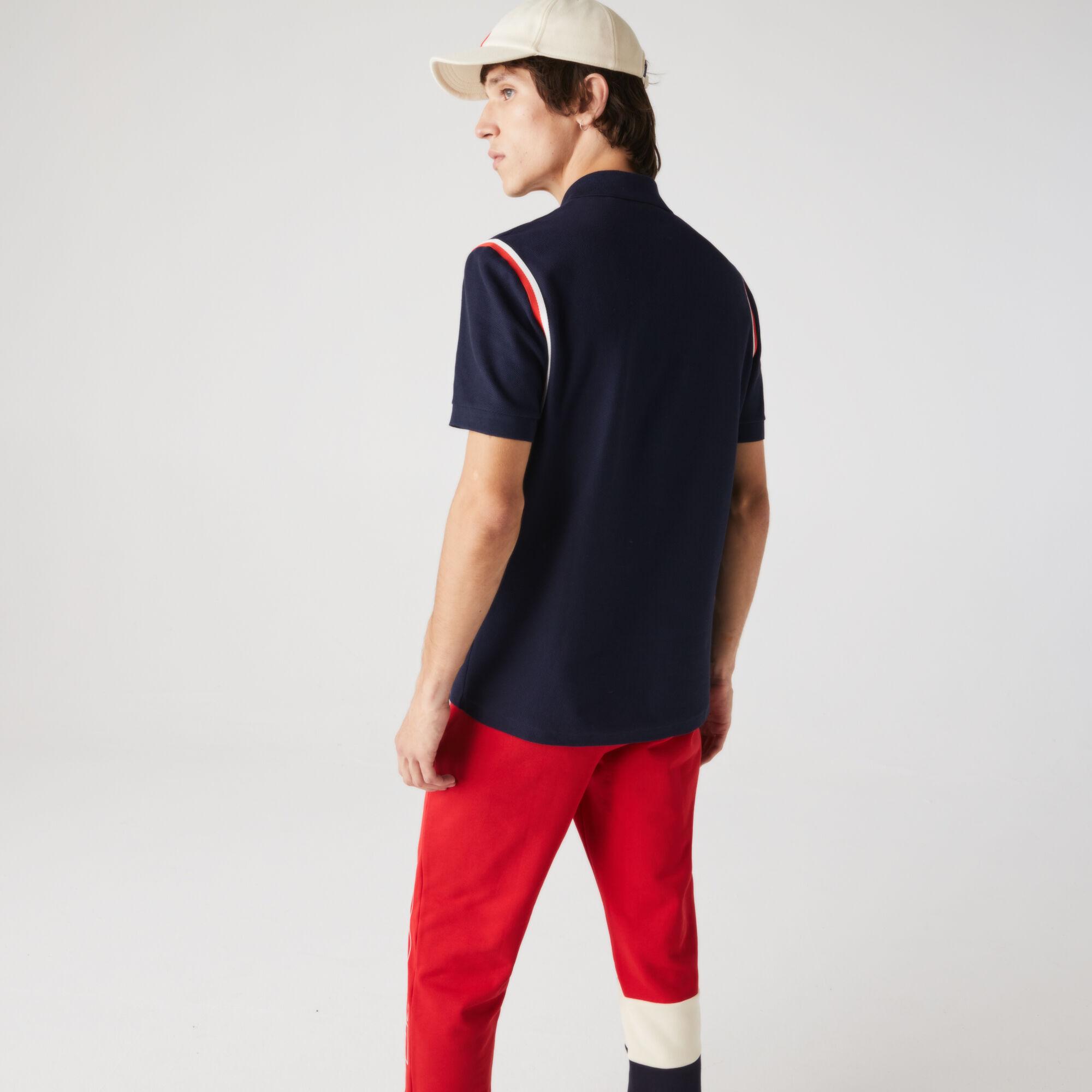 قميص بولو للرجال من القطن العضوي بقصة عادية مجموعة Made in France