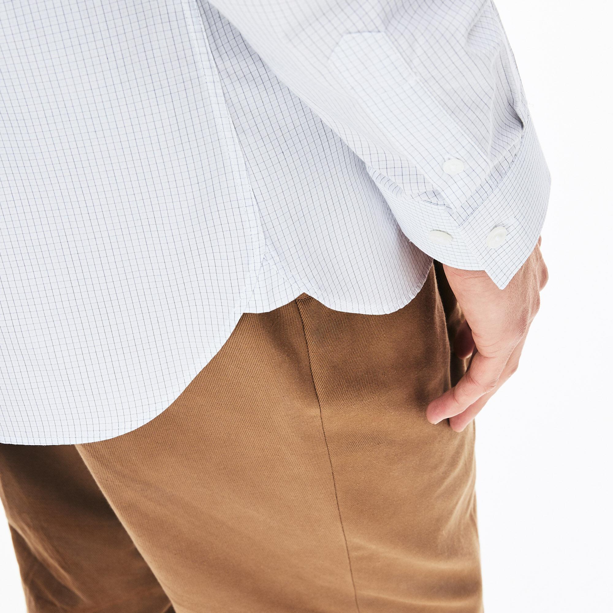 Men's Checked Premium Cotton Shirt