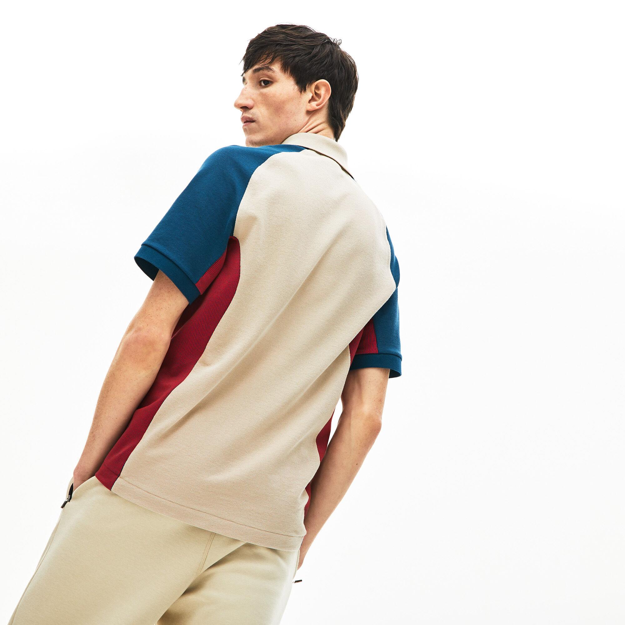 Men's Lacoste Colourblock Piqué Polo Shirt