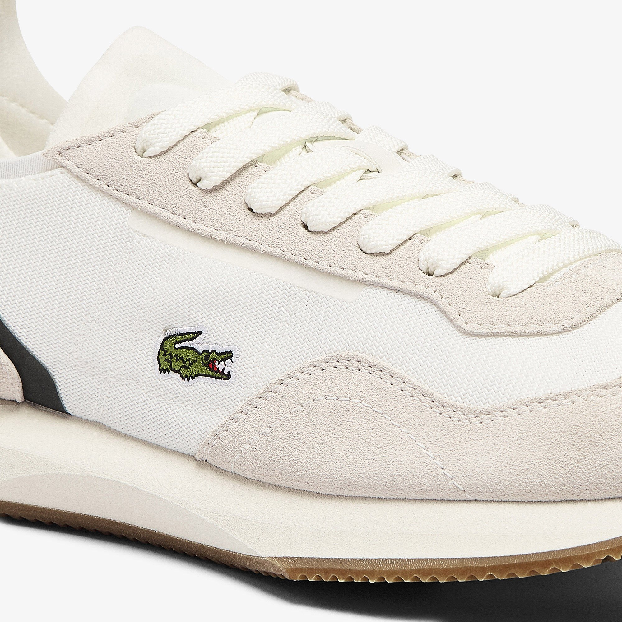 Women's Match Break Textile and Suede Trainers