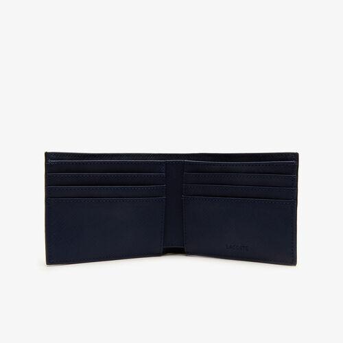 Men's Classic Petit Piqué Six Card Wallet