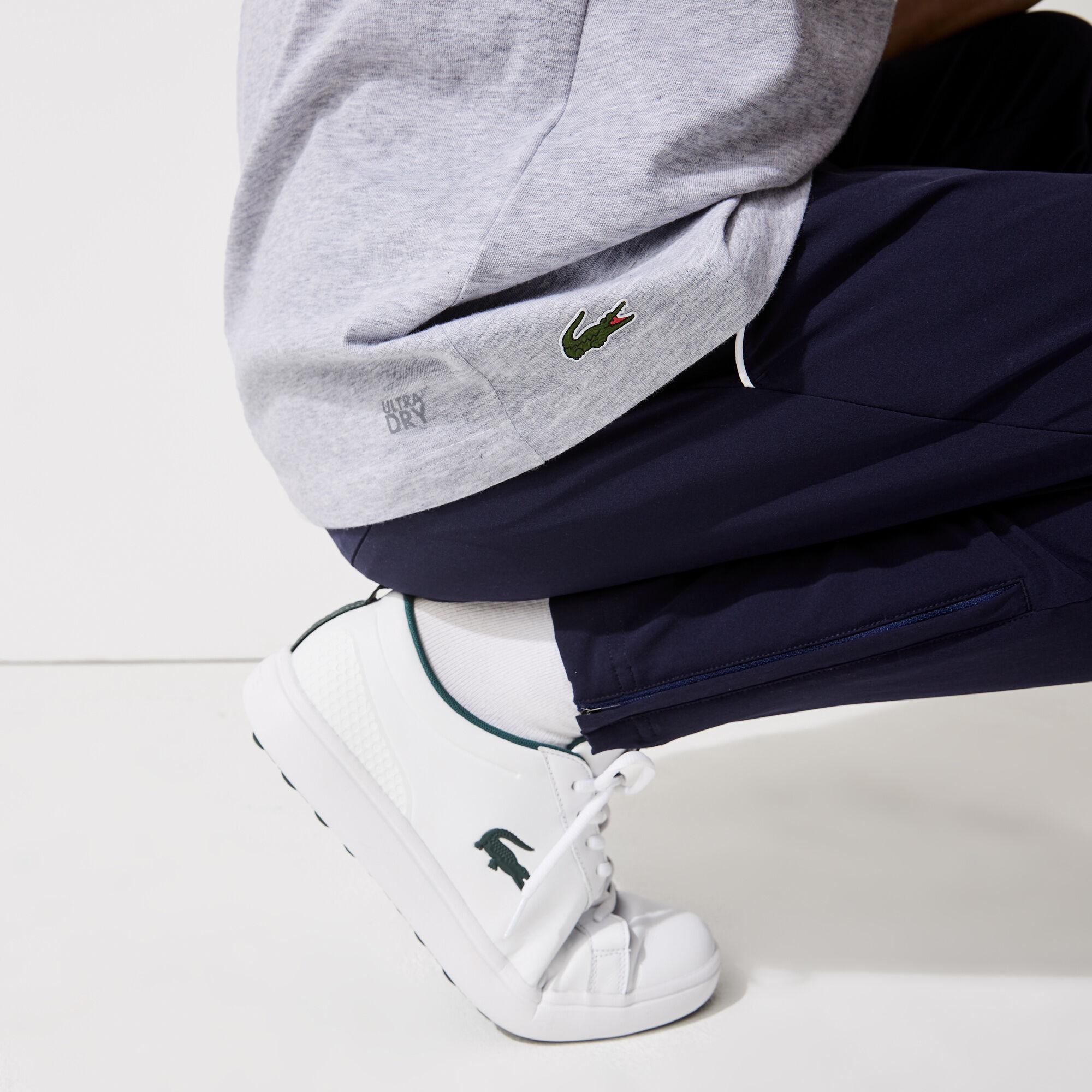Men's Lacoste SPORT 3D Design Breathable Cotton Golf T-shirt