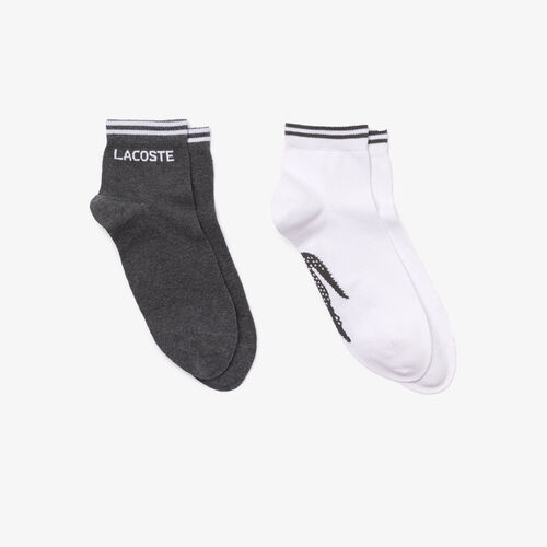 Men's Two-pack Of Lacoste Sport Cotton Socks
