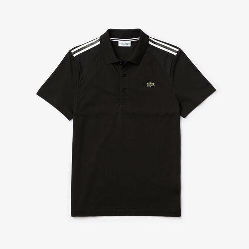 Men's Lacoste Sport Paneled Ultra-light Cotton Polo Shirt