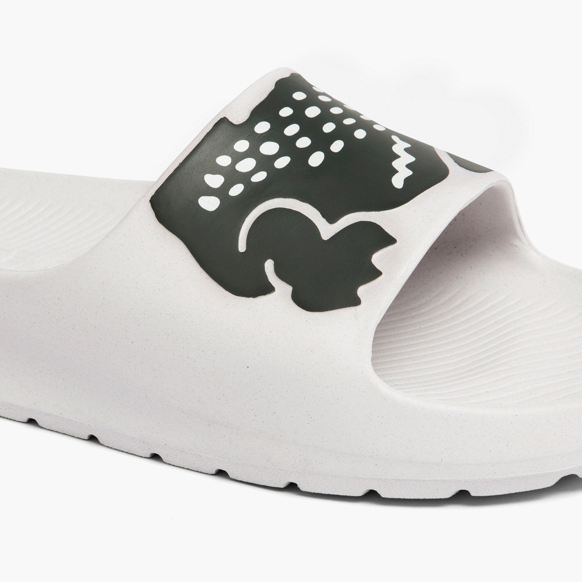 Women's Croco 2.0 Synthetic Print Slides