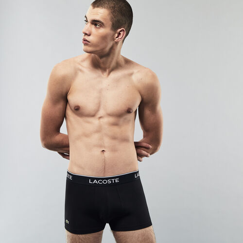 Pack Of 3 Casual Black Boxer Briefs