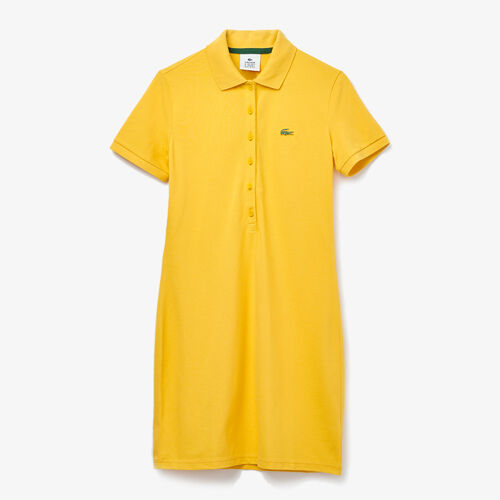 Women's Lacoste Live Stretch Cotton Piqué Polo Dress