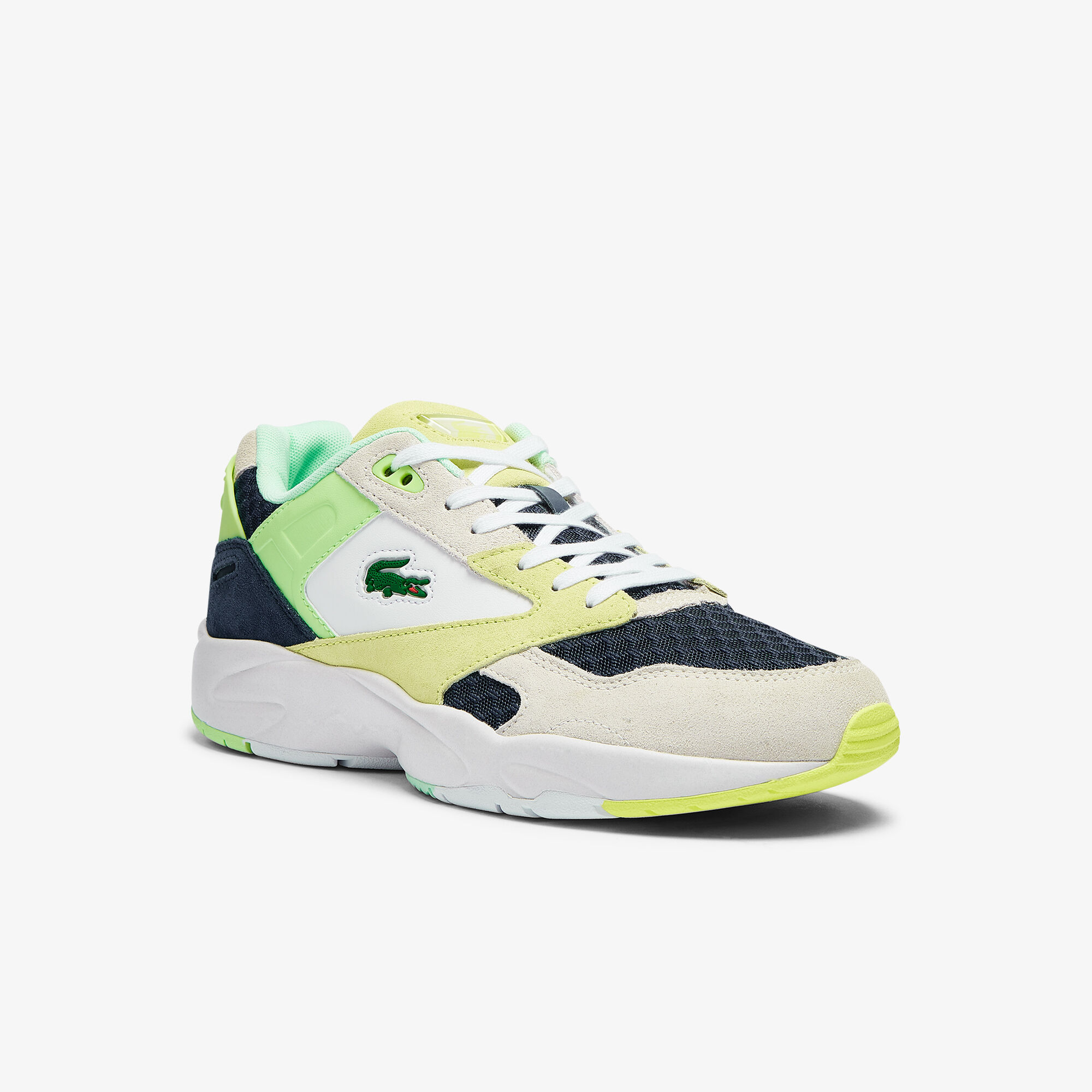 Men's Storm 96 Lo Suede and Mesh Trainers