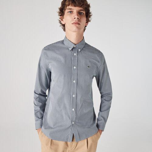 Men's Regular Fit Checkered Premium Cotton Shirt