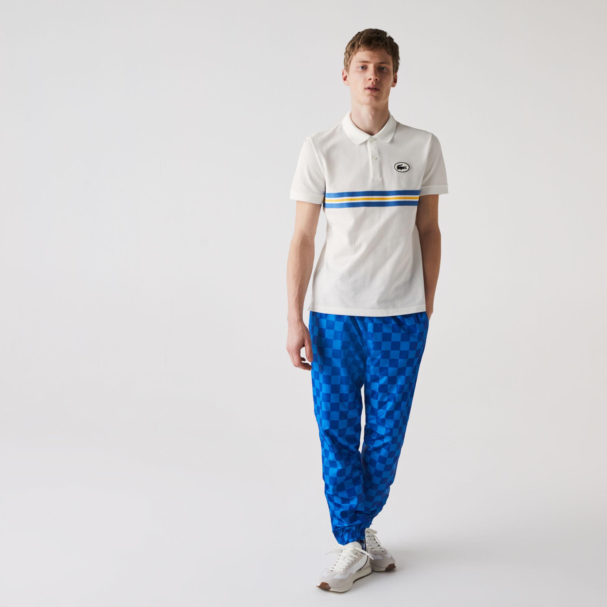 Men's Lacoste Heritage Regular Fit Badge Cotton Piqué Polo Shirt