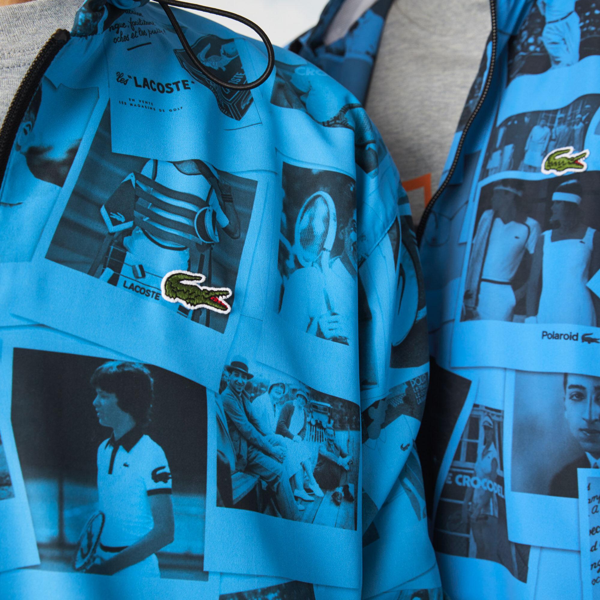 Unisex Lacoste LIVE Polaroid Collaboration Zip Jacket