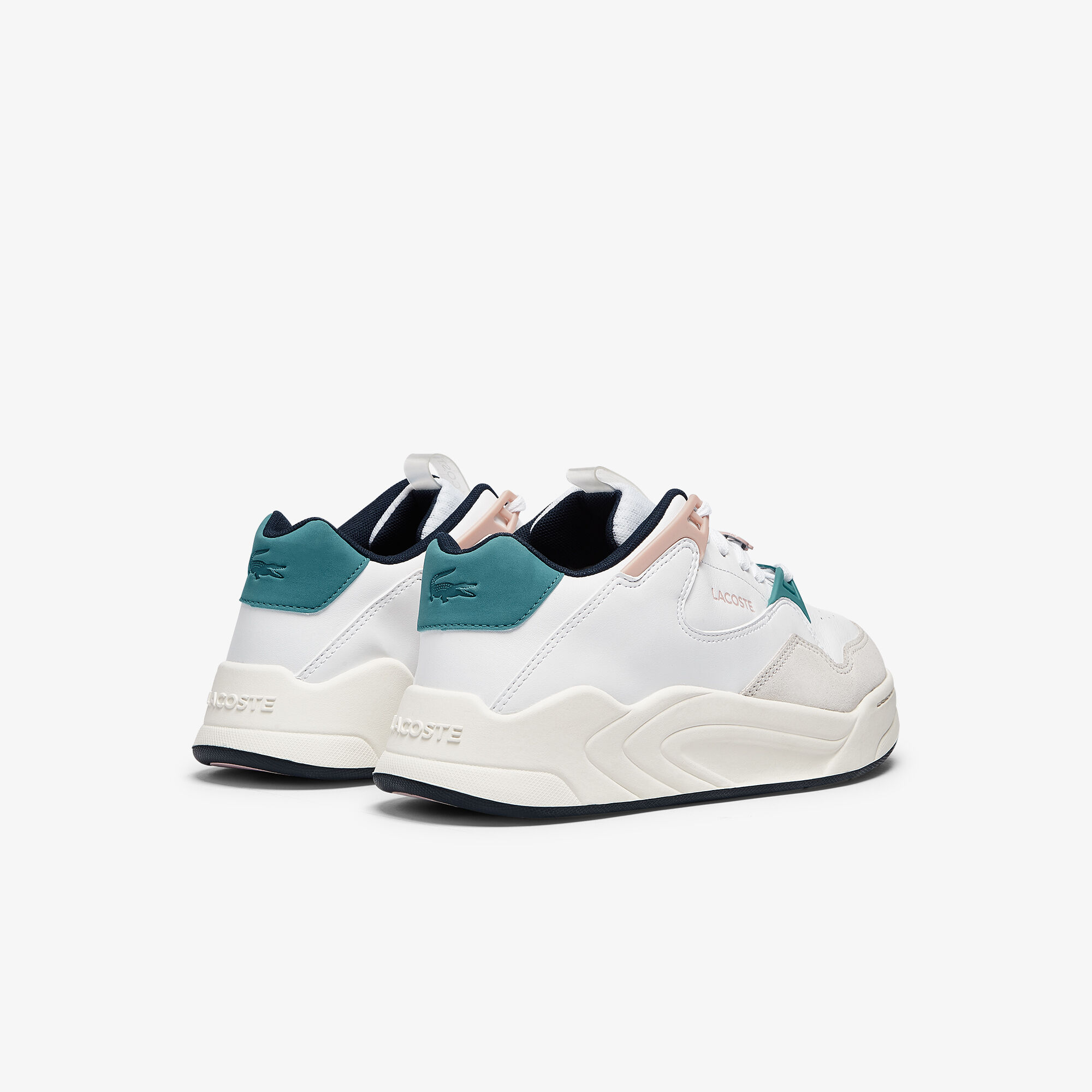 Women's Court Slam Synthetic and Leather Trainers