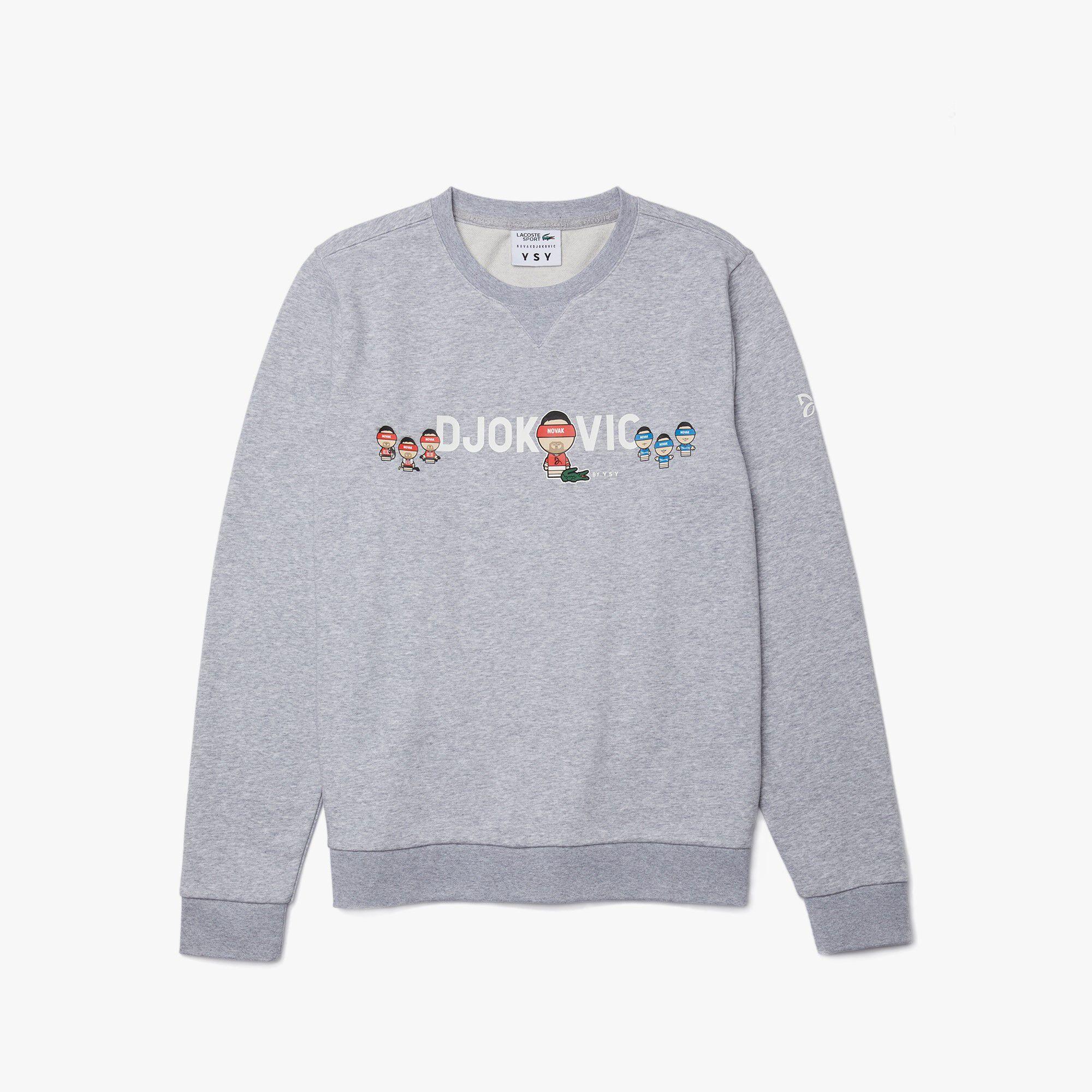 Men's Lacoste SPORT Collab Youssef SY In Fleece Sweatshirt