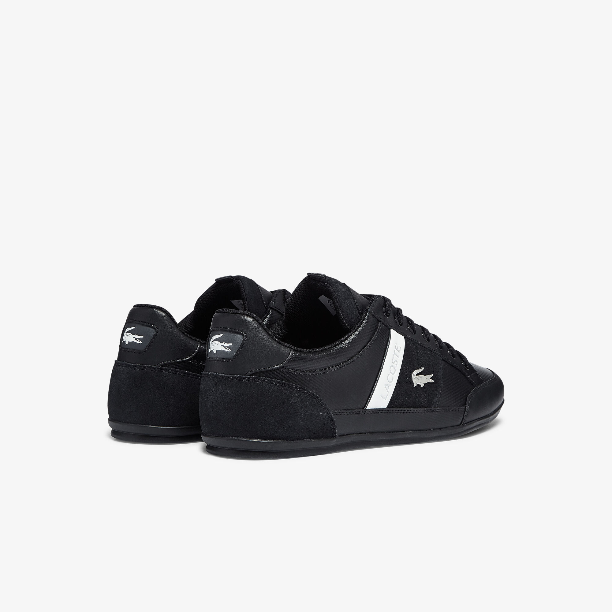 Men's Chaymon Leather and Suede Trainers