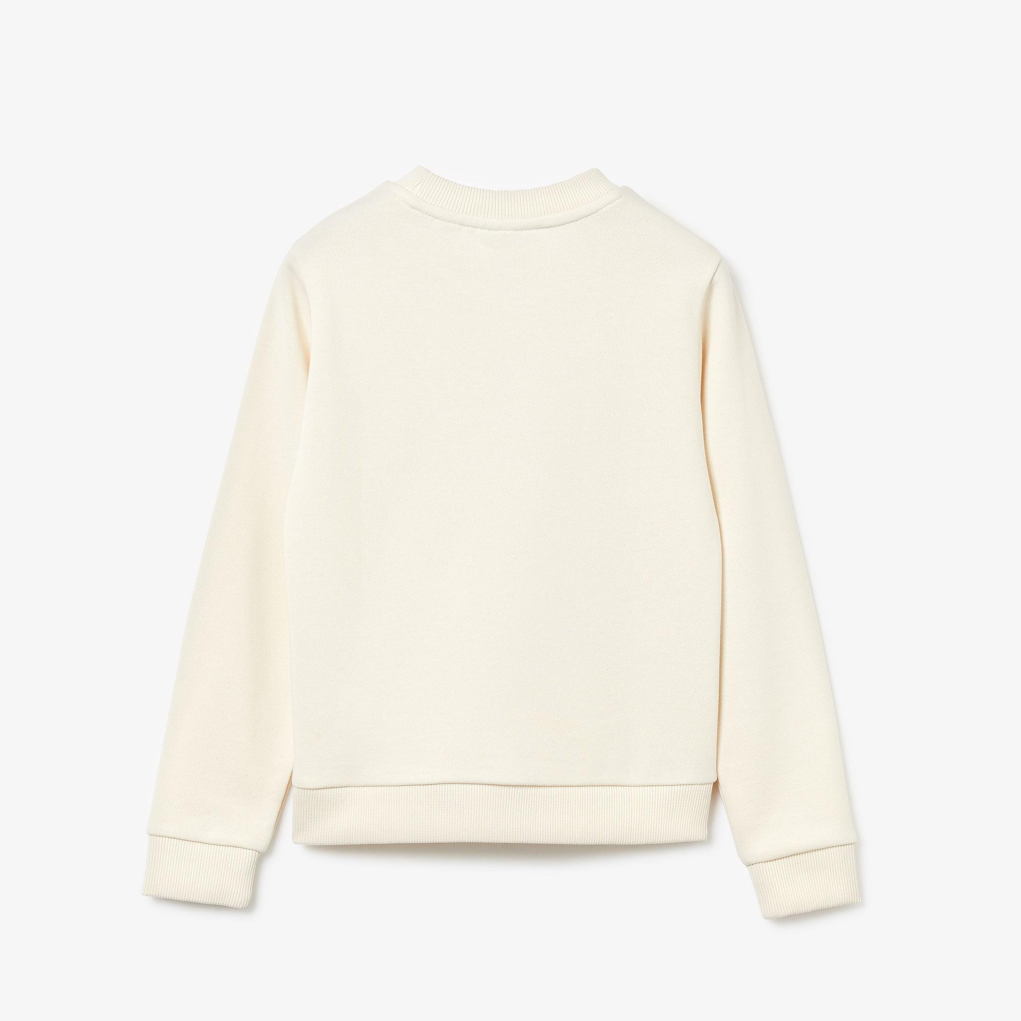 Girl's Crocodile Print Fleece Sweatshirt