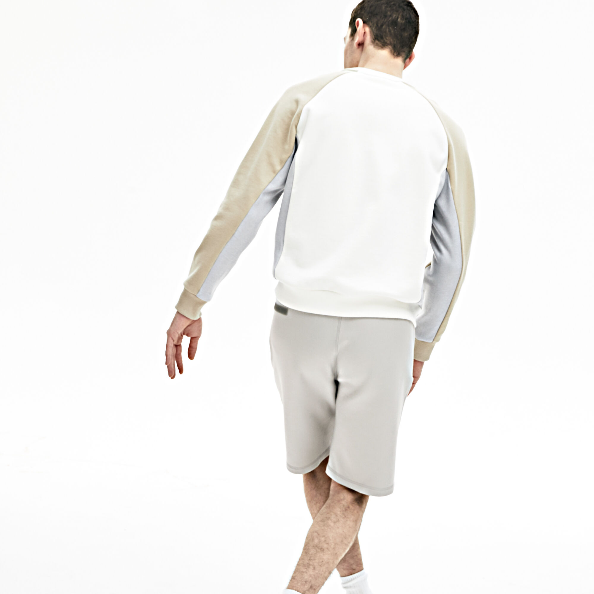 Men's Lacoste Motion Stretch Cotton Bermuda Shorts