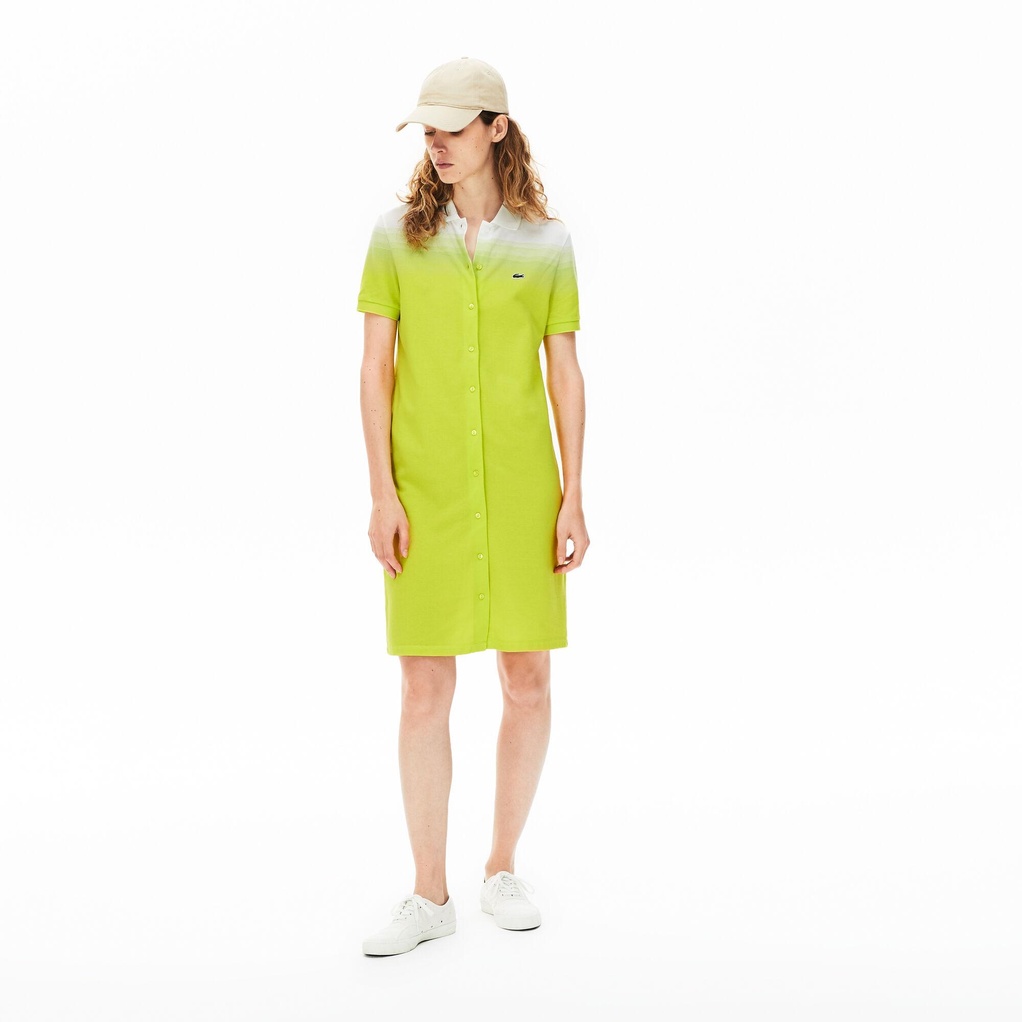 Women's Made in France Cotton Piqué Polo Dress