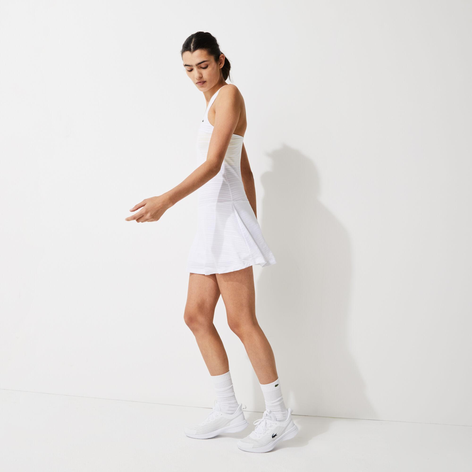 فستان مرن للنساء مجموعة Lacoste SPORT French Open