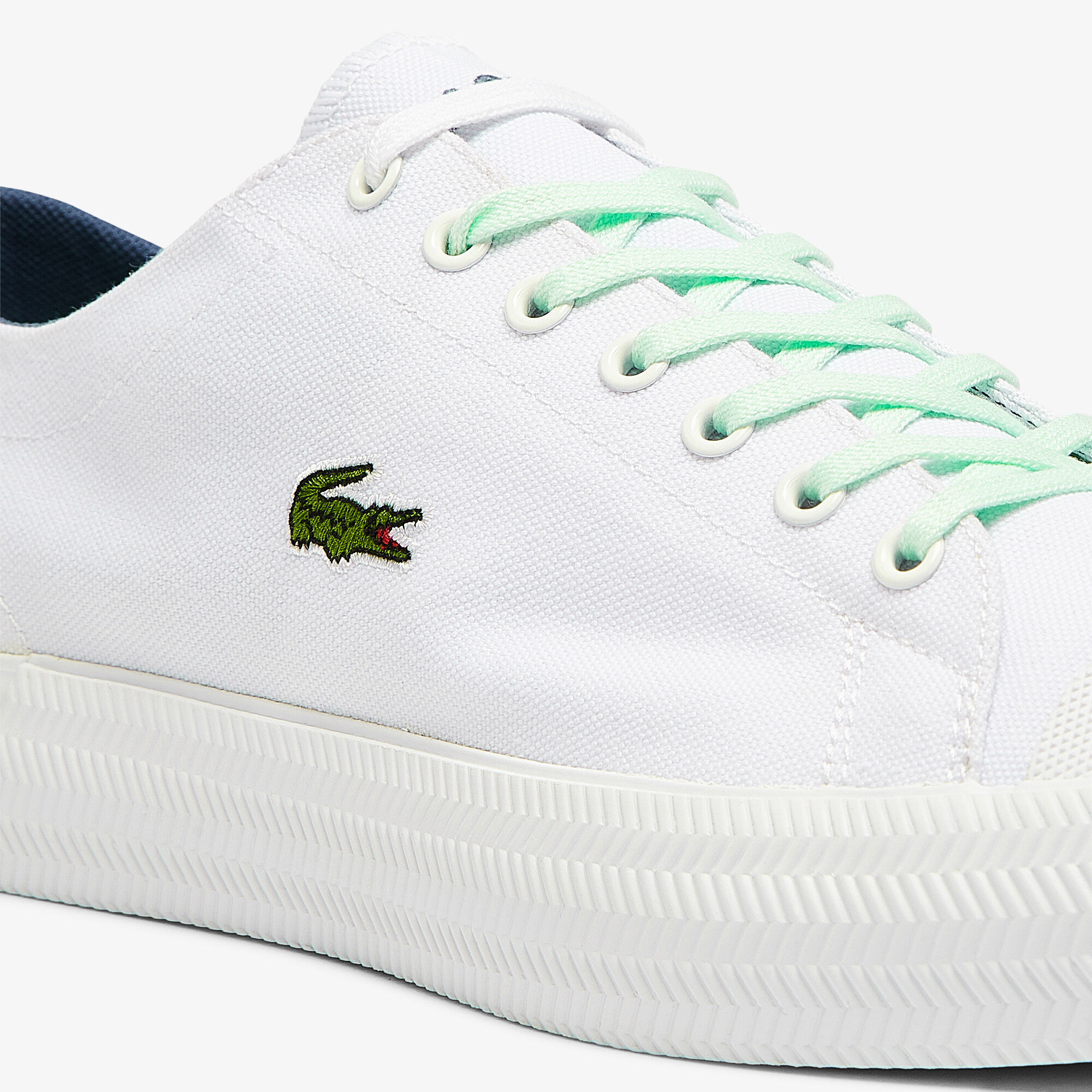 Men's Gripshot Canvas and Leather Plimsolls