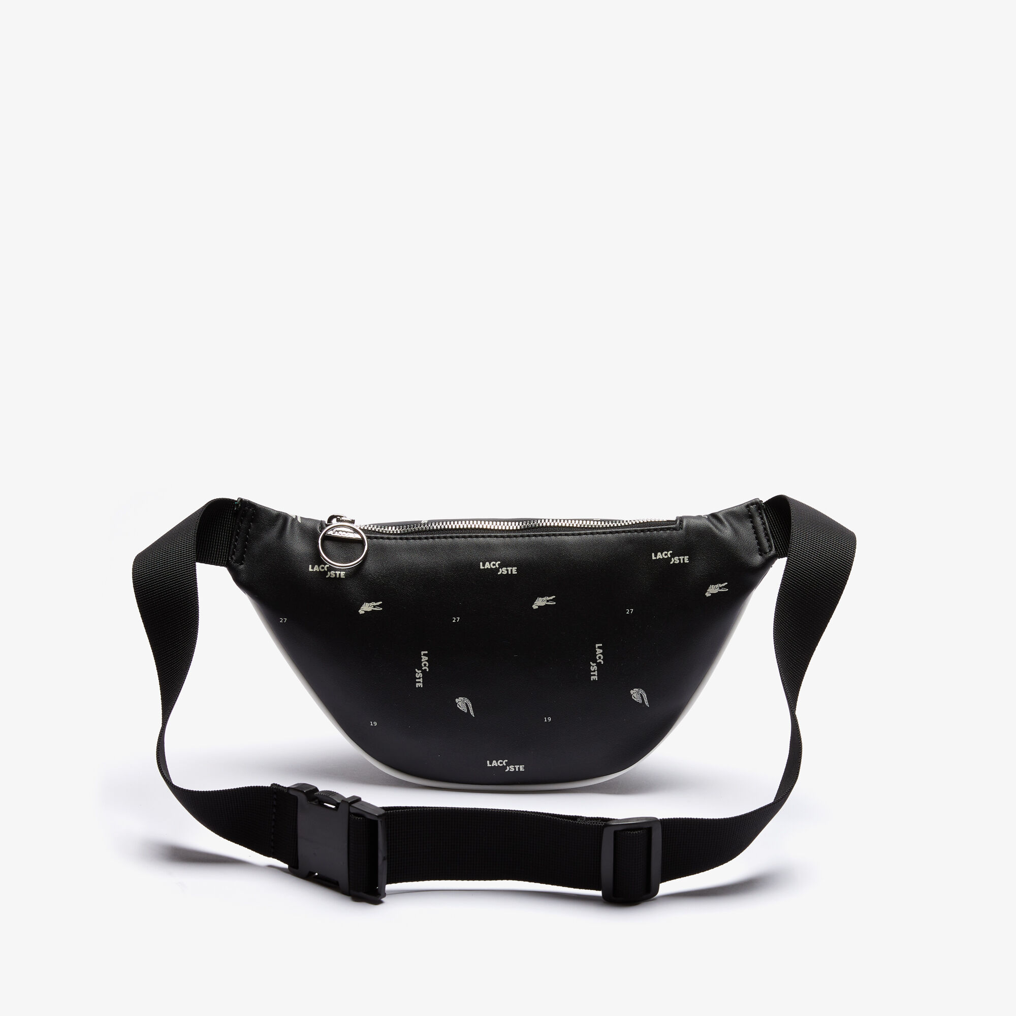Men's LCST Coated Canvas Print Zippered Fanny Pack