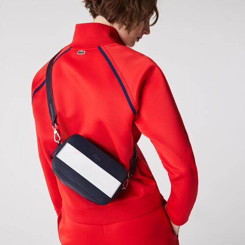 Women's Chantaco Colorblock Piqué Leather Shoulder Bag