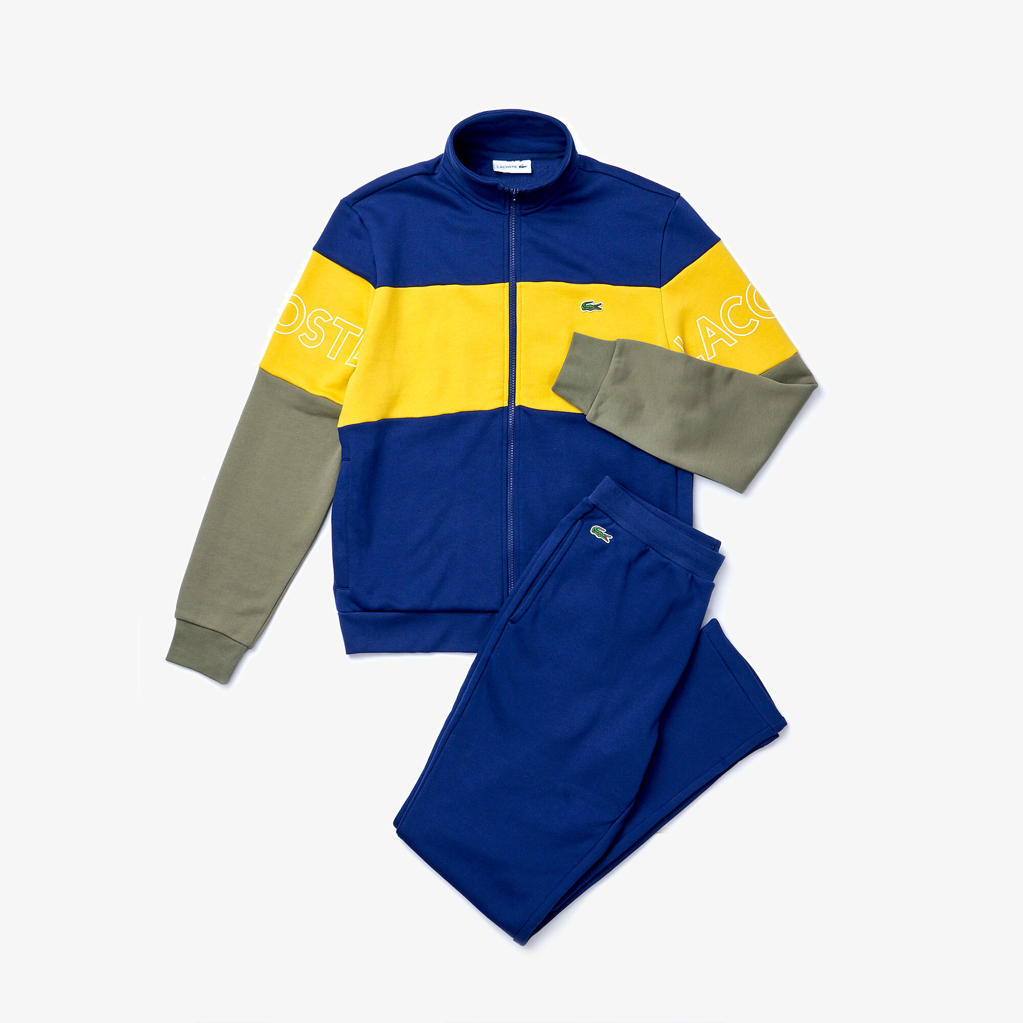 Men's Colorblock Fleece Tracksuit