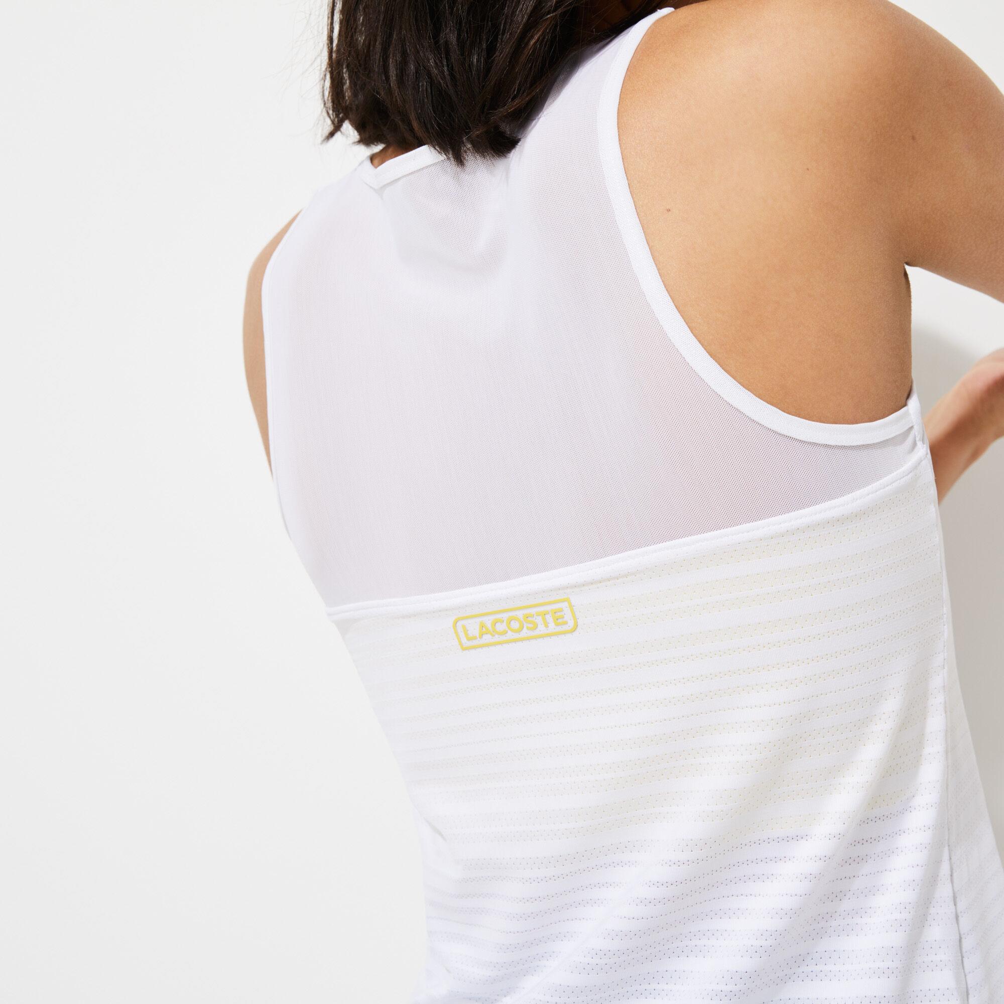 قميص حمالات للنساء مزدوج الخامة مجموعة Lacoste SPORT