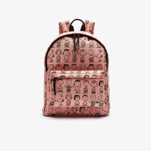 Men's Lacoste X Peanuts Print Canvas Backpack