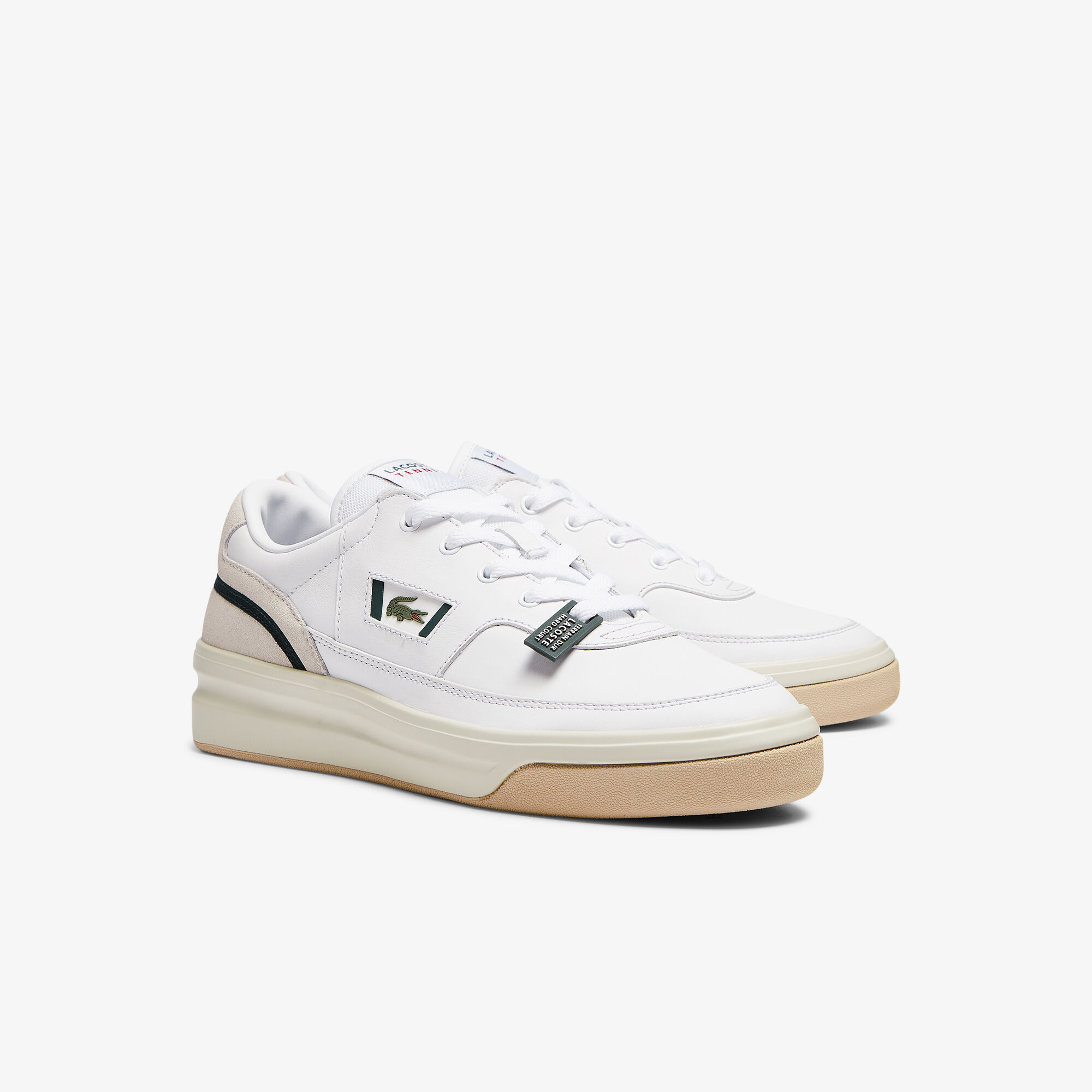 Men's G80 Leather and Suede Trainers