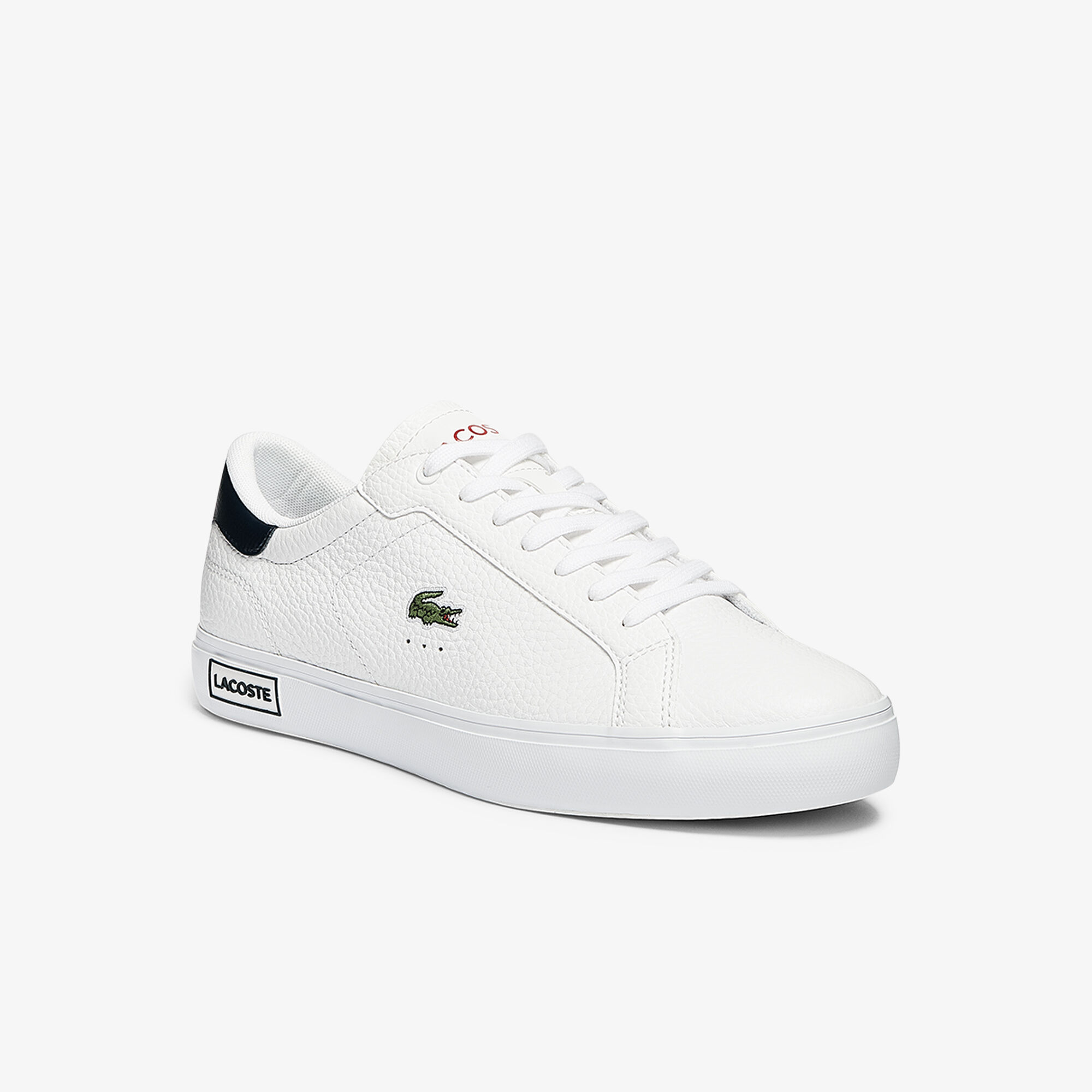 Men's Powercourt Leather Trainers