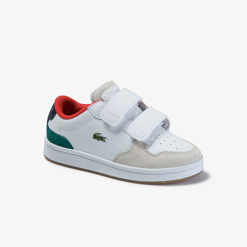 Infants' Masters Cup Metallic Leather And Suede Sneakers