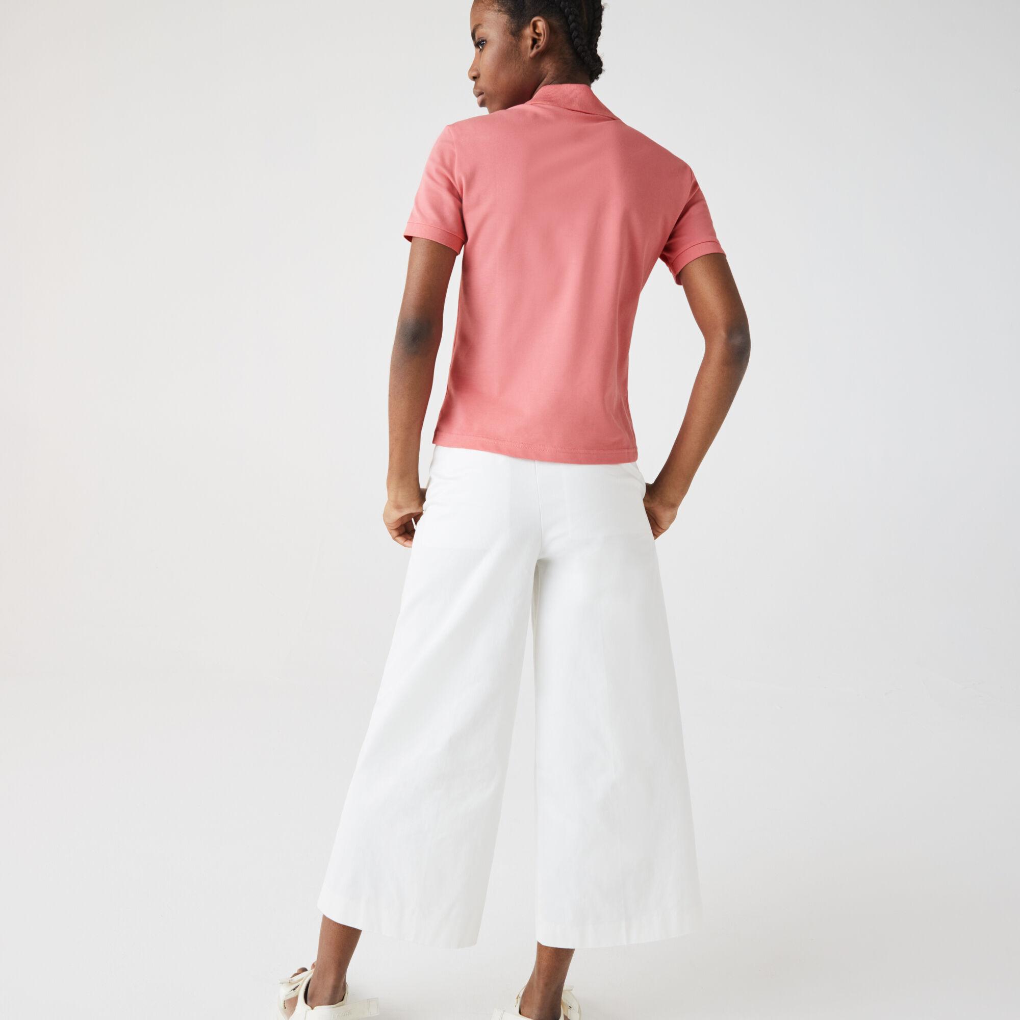 Women's Lacoste LIVE Slim Fit Stretch Cotton Piqué Polo