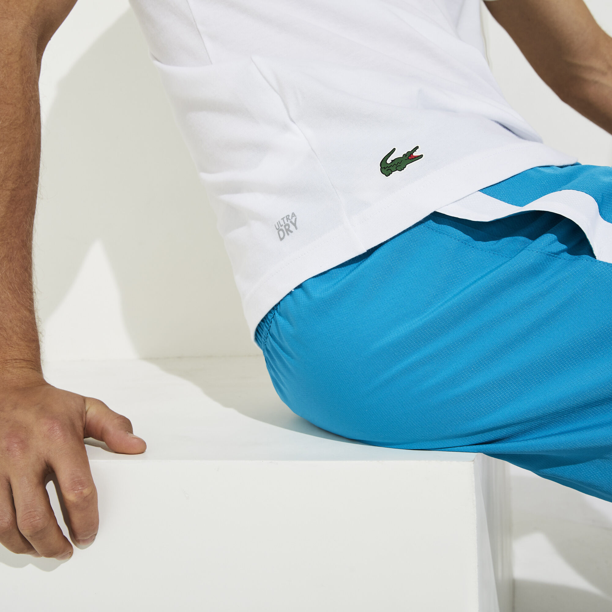 Men's Lacoste SPORT Printed Breathable T-shirt