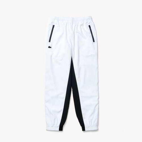 Men's Lightweight Retro Style Colourblock Tracksuit Pants