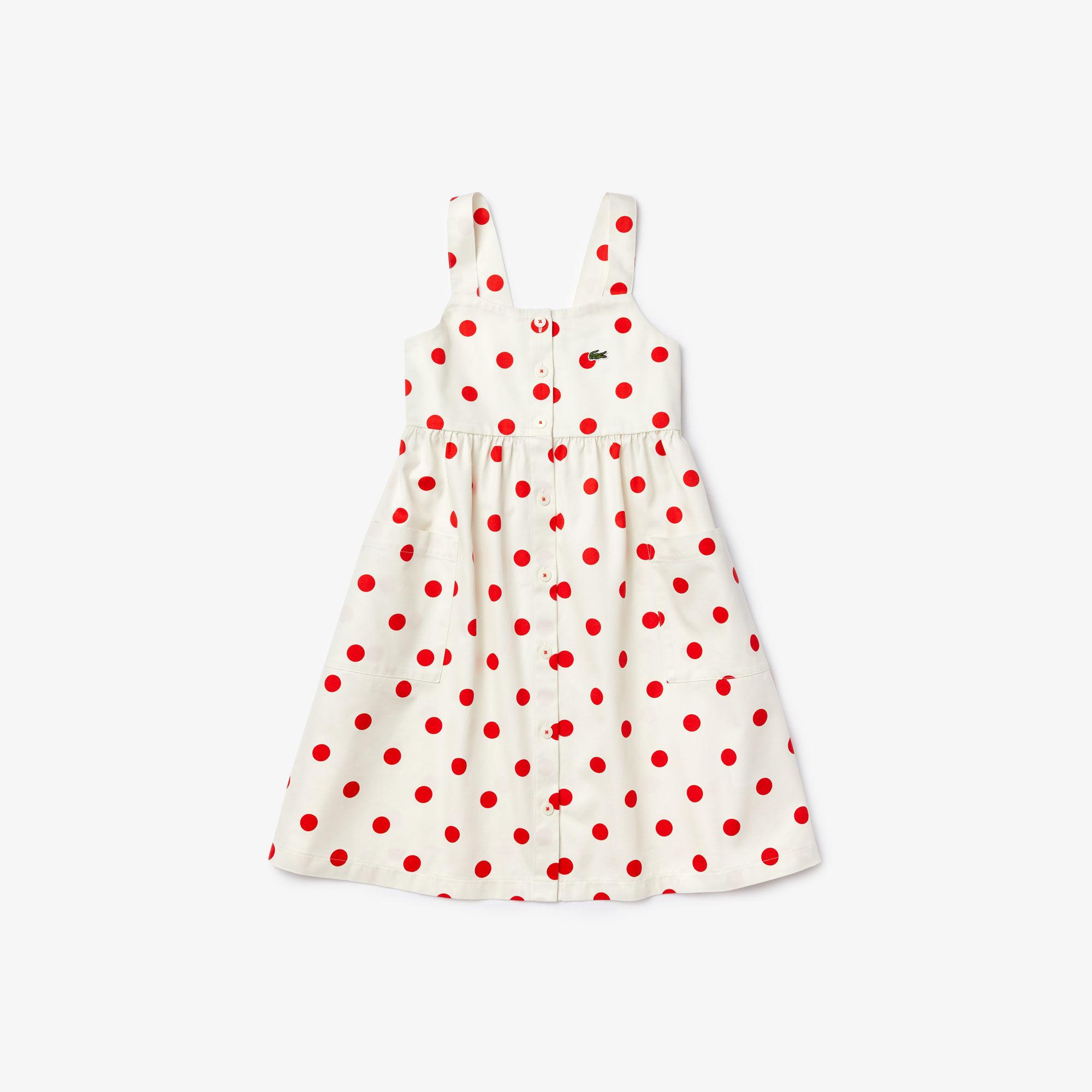فستان من القطن من مجموعة Polka Dot للفتيات