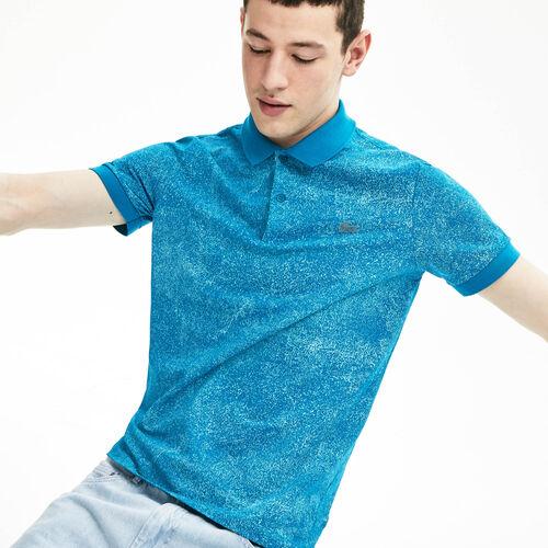 Men's Lacoste Motion Premium Piqué Polo Shirt